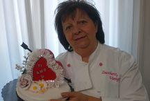 torta cake / un pizzo di cuore