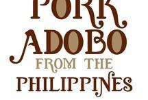 Philippine/ Thai recipes