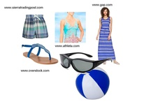Don't be Blue! Summer is Here!