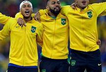 Neymar Jr , Rafinha i Gabigol
