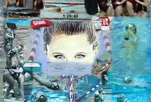 Swimming Collages / Collages of Swimmers I photographed