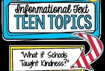 Informational Text / This board is full of great Non-Fiction and Informational Text ideas for the middle school and high school classroom or home school. Stick around to find resources, FREE downloads, inspiration, tips, and more. {6th, 7th, 8th, 9th, 10th, 11th, and 12th grade approved!}