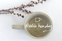Studio Hendry / Handmade ceramics