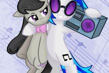 mlp background ponies