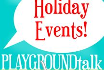 Wintertime Fun / Chilly air rolls in and before you know it it's the holiday season…here are some great holiday themed events and places to visit!