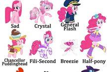 ponies ...typs