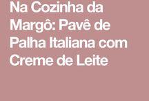 pavê pLha italiana p clube Luluzinha