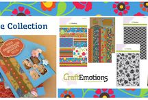 CraftEmotions Folklore / A collection matching products for cardmaking, mixed media and more. Available products: decorated paperstack, clearstamps, masks, wooden ornaments