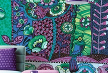 fabrics, patterns, colors / by Jacqueline Sloan