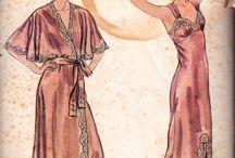 vintage robes