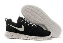 Nike Roshe Run Femme Noir / Chaussures Nike Roshe Run Femme Noir pas cher  http://www.larosherun.com/chaussures-nike-roshe-run-femme/id0003