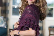 evening crochet stole