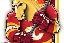 NHL New Cartoon Maskots