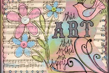 Art journal/Mixed media / by Jytte Jensen
