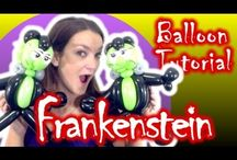 Balloon twisting tutorials / I'm allways looking for new balloon designs. On www.bibaballoons.com you find all great YouTube tutorials, how to make balloon animals.