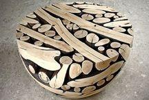 Meja kayu cantik