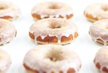 Donuts and Doughnuts! / The question isn't do or do not, but rather vanilla, maple or glaze?