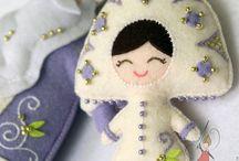 Фетр куклы