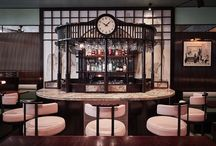 XU - Rupert Street, London / XU immerses diners into the world of Taiwanese cuisine with an interior evocative of a cinematic stage set of Taipei in the 1930s.
