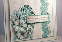 Creative Expressions Demo Day using Sue Wilson Dies / these beautiful cards were made by Johnathon Lockwood at our demonstration day in April