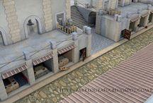 castles ancient buildings etc