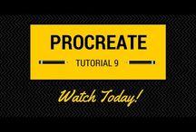 Procreate tutorials