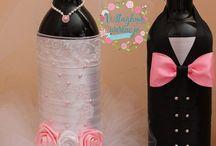 Butelki na wesele