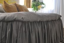 Bedroom decor  linen and bed frills