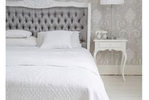 White, Silver and shades of Grey / The soft luxurious whites, silver and shades of grey we so adore.  / by The French Bedroom Company