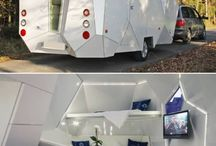 Trailers / Mood board for trailer tent project.