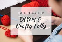 Gift Ideas for DIYers / If you love DIY projects, this is the board for you! We're constantly updating it with ideas and materials you'll need for your next project.