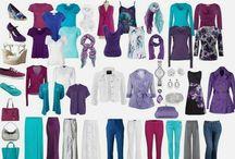 Fashion winter color palette