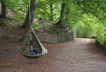 Fall / Cacoon is the new hang-out place, a beautiful hanging tent/hammock that you can relax is inside and out.