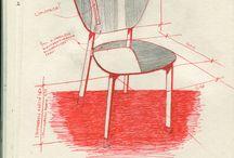 croquis de meubles