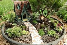 Miniature Gardens... / Miniature worlds that spark your imagination while traveling through time.... making you feel like a child again...