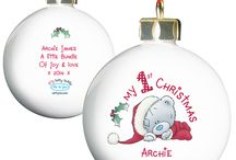 Personalised Baby's 1st Christmas Gifts / Keepsake gifts and mementos for babies first Xmas