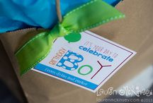 boy birthday printables - Lauren McKinsey