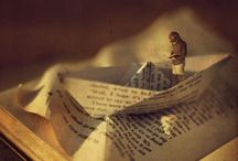 Photography | Books and Paper Cutouts
