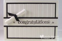 Stampin' Up! Graduation ideas / by Melissa Davies - bee divine designs