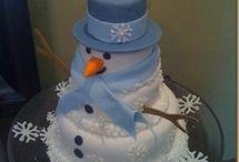 zimní dorty