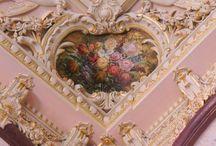 Rococo architectural details
