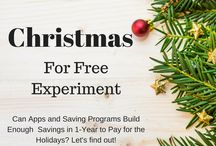 The Christmas for Free Experiment / Post about Peony Lane Designs Christmas for Free experiment.