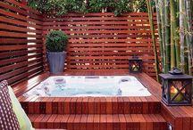 Garden/jacuzzi Design