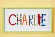 Child name diff materials