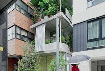 Architectural garden house