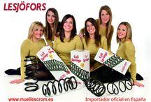 CROMPARTS MODELS / The models for the suspension spring commercials - Las modelos para los anuncios de muelles de suspensión
