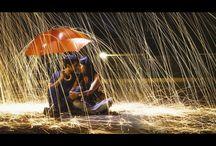 Ohnivý dážď (Inšpirácie na fotenie)