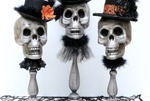 Haunted Halloween: Spooktacular Home Decor / Your Place is Frightening Darlening, Simply Frightening...