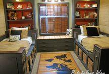 Duncan pirate bedroom
