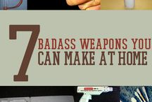 7 badass weapons you can make home